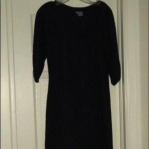 EUC Little black dress. Ann Taylor Size S. Knit